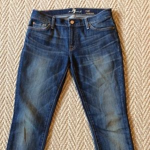 7 For All Mankind crop Roxanne size 27